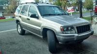 2004 Jeep Grand Cherokee Gris VUS