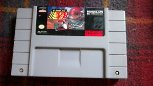 super nintendo Al Unser Jr'.s Road to the top