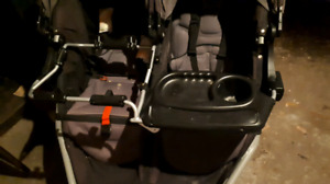 Double graco adapter for bob double stroller