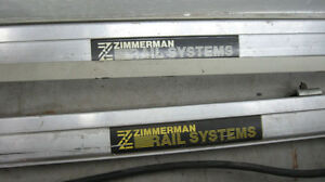 ZIMMERMAN RAILS AND SUPPORTING STRUCTURE