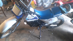 Suzuki dr200 enduro, will trade for truck certified only