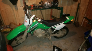 2012 Kawasaki klx 140 (negotiable)