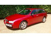 2002 Alfa Romeo 156 2.4 JTD SPORTWAGON Red