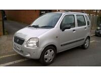Suzuki Wagon R 1.3 GL, NEW MOT, HISTORY, SMALL ENGINE