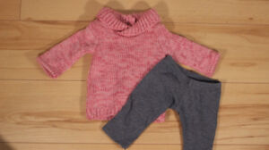American girl doll sweater outfit