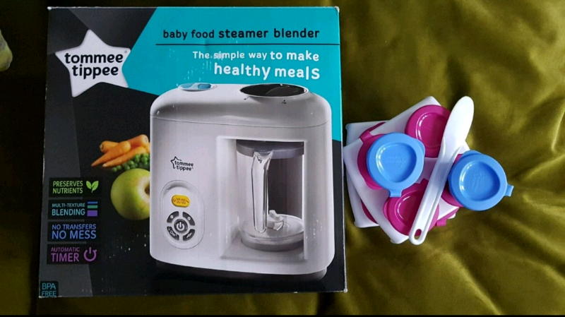 Tommee Tippee Baby Food Steamer Blender In Basford Nottinghamshire Gumtree