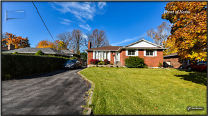 Bungalow In The Most Sought After Neighborhood  In West Oakville