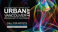 Open call Art Festival on the Street (Down Town Vancouver)