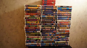 ~ WALT DISNEY CLASSIC COLLECTION ~ 70 VHS  in PERFECT CONDITION