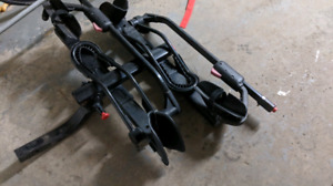 Yakima Hold Up car bicycle rack.  Support vélo pour automobile