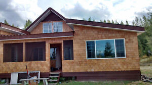 320 acres and 2 houses in the beautiful community of Kersley, BC