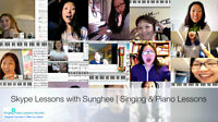 Amazing Skype Singing Piano Lessons at Your Own Place!