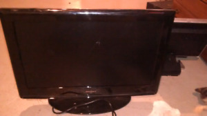 Insignia lcd  color tv&dvd player $50
