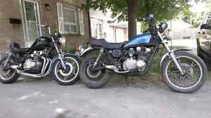 Two Suzuki Gs650 bikes for the price of one!