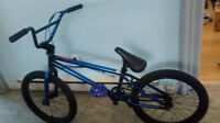 REDUCED PRICE good condition blue 2014 bmx bike