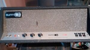 1968-9 SUNN 200S bass amp head