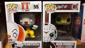 Pennywise and Jason Voorhees Funko Pop!! Kitchener / Waterloo Kitchener Area image 1