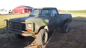 1982 Dodge 4x4 for sale