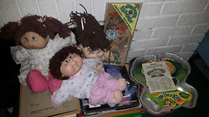 Vtg80s Cabbage Patch kids Collection