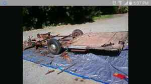 Wanted Junky Old In Need Of Work Utility Trailer