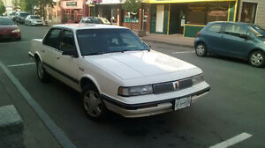 1992 Olds Cutlass Ciera BC car, safetied