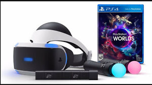 Sony playstation VR world
