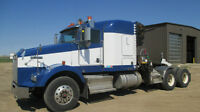 2009 KENWORTH T800 SLEEPER WITH HIAB 175 CRANE