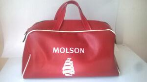 Molson Canadian Bowling Bag Vintage