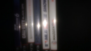 PS3 system & Madden 17, Battlefield Hardline, GTA5,MLB 16 + more