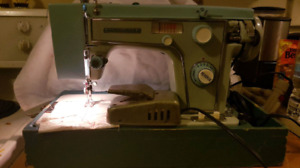 Heavy Duty Sears Kenmore Sewing Machine All Original And Cover