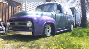 1953 Ford f100 delivery         b.o. or partial trades