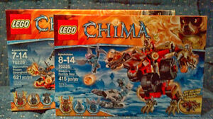 Lego Chima Lot - 2 Different Sets Cambridge Kitchener Area image 1