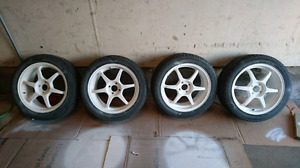 17x7 4x100 rims only