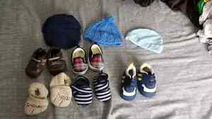 Boys 3-6/6 clothing & crib shoes.