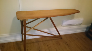 *** Stunning Antique Vintage Wooden Ironing Board ***