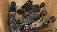 ANTIQUE AND VINTAGE BLOCK PLANES LOW ANGLE STANLEY RECORD ETC