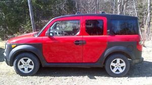2005 Honda Element Red EX Package 4x4