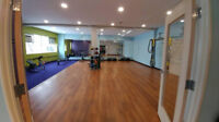 Yoga instructor for Anytime Fitness Wellington St W