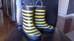 Rubber boots size 7 youth