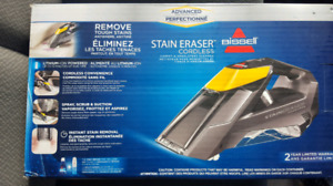 BISSELL Stain Eraser Cordless Portable Deep Cleaner