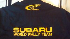 Chemise Subaru Rally Team Américain Personnalisé 2014