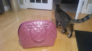 Loungefly Hello Kitty Dusty Rose Tote Purse