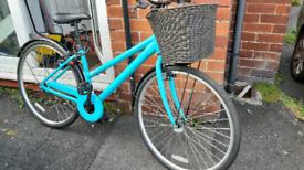 Ladies hybrid bike medium-large