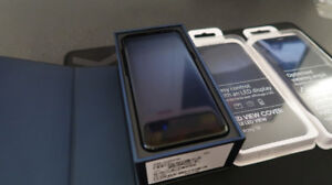 Samsung S8 64gb black Mint with two Samsung cases