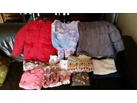 Girls winter clothes age 7-8