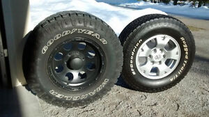 GoodYear Wrangler Duratrac Tires and Custom Eagle Wheels