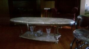 Marbale COFFEE table SET