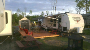 Roulotte camping  Atlantide set up complet