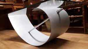 Designer Coffee Table with Tempered Glass West Island Greater Montréal image 5