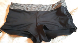 Worn once. bathing suit bottoms Large